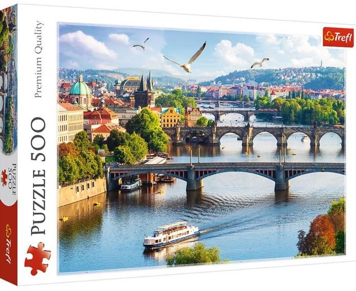 Puzzle 500 Praga Czechy TREFL