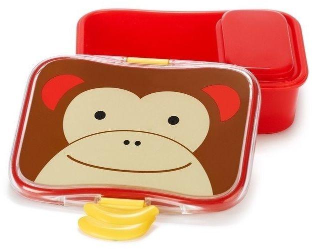 Pudełko śniadaniowe - małpa