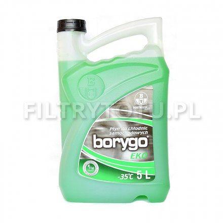 Borygo EKO (zielony) płyn chłodniczy -35 C 5l