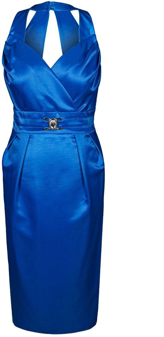 Sukienka FSU924 CHABROWY