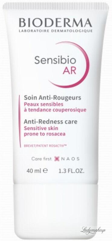 BIODERMA - Sensibio AR - Anti-Redness Care - Krem do twarzy z problemami naczynkowymi - 40 ml