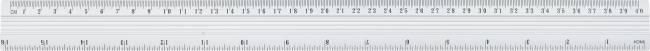 Linijka 40 cm aluminiowa GRAND - X00692