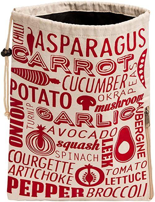 Premier Housewares Torba na warzywa Porter - czerwona