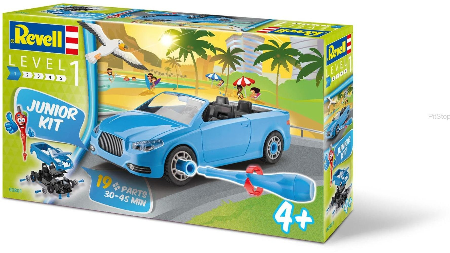 Revell - Junior Kit - Kabriolet