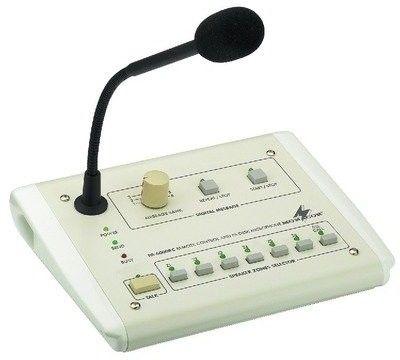 Monacor PA-6000RC, mikrofon pulpitowy pa, strefowy