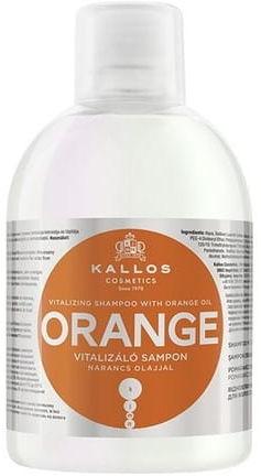Kallos Orange nawilżający szampon do włosów 1000 ml