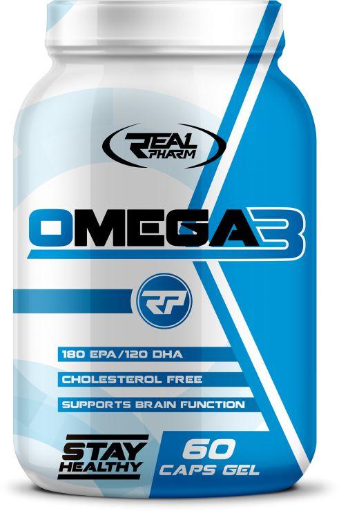 Real Pharm Omega 3 - 60 caps