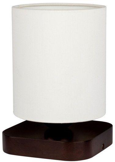 SPOTLIGHT lampa stołowa JENTA drewno bukowe kolor orzech, 7522176