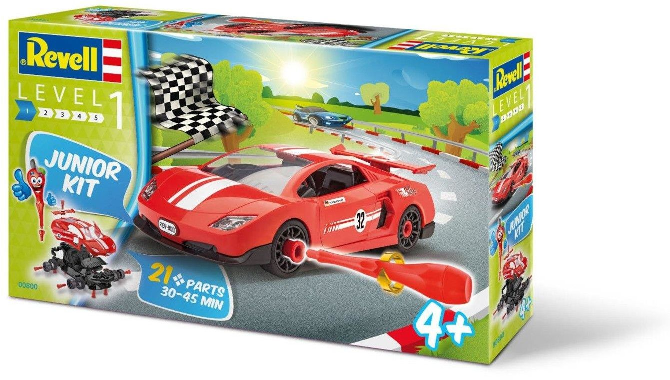Revell - Junior Kit - Samochód wyścigowy