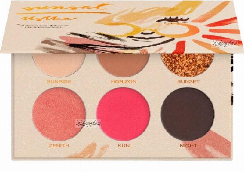 Pierre René - Ustka - Eyeshadow Palette - Paleta cieni do powiek - SUNSET - Limitowana kolekcja