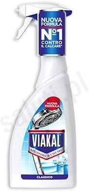Włoski odkamieniacz Viakal Blu w sprayu