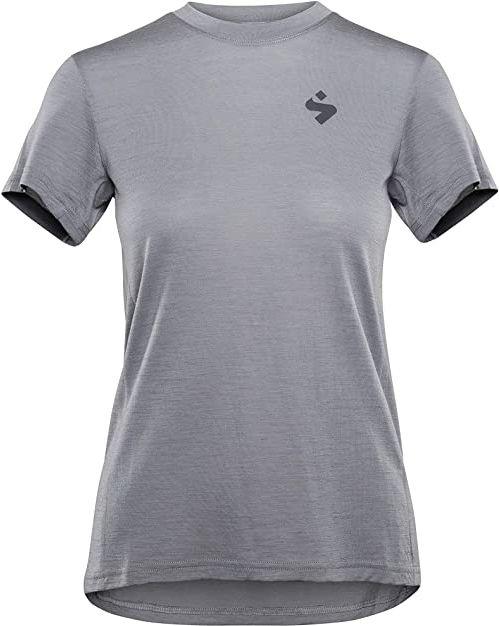 Sweet Protection Damska koszulka Hunter Merino Ss Jersey W Jersey szary Jasnoszary XS