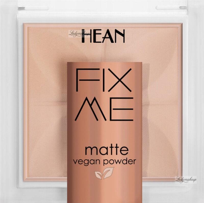 HEAN - FIX ME - Matte Vegan Powder - Matujący, wegański puder do twarzy - 8g - 63 WARM