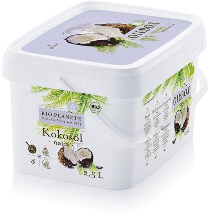 Olej kokosowy virgin bio 2,5 l - bio planete
