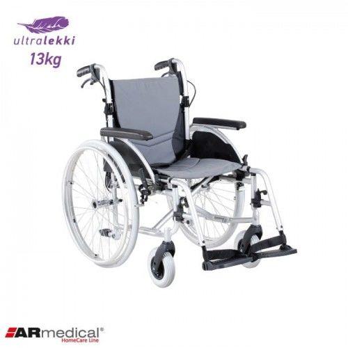 Wózek inwalidzki aluminiowy ERGONOMIC AR-300