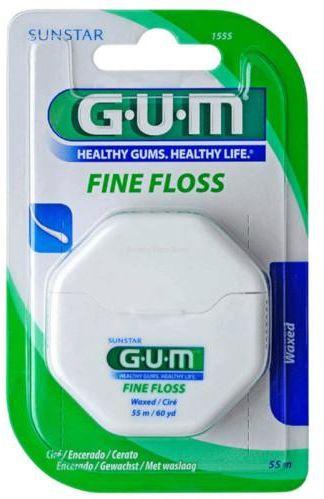 GUM Fine Floss nić dentystyczna 55 m
