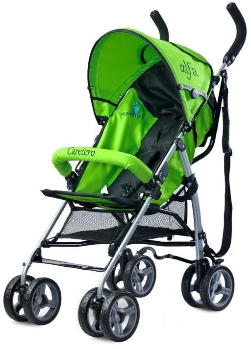 Caretero wózek spacerowy alfa green