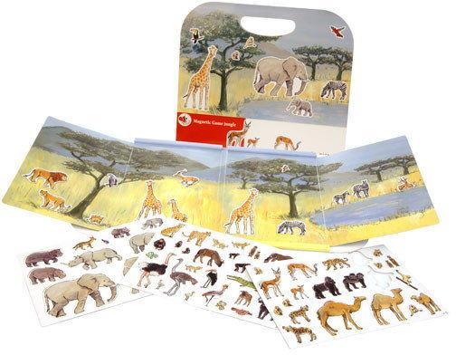 Egmont Toys - Gra magnetyczna - Dżungla