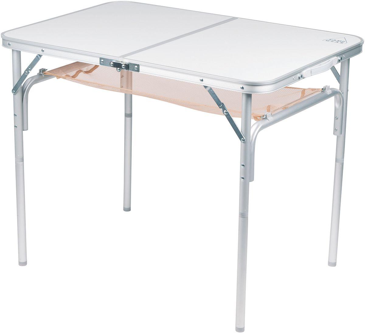 Stół składany turystyczny z siatką DUŻY 90 x 60cm