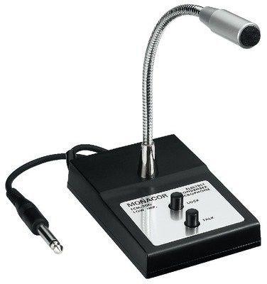Monacor ECM-200, mikrofon pulpitowy pa