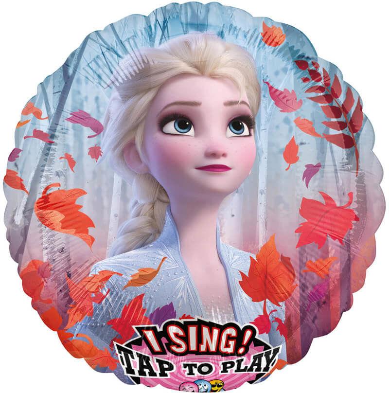 Balon foliowy grający Frozen 2 Elsa - 71 cm - 1 szt.