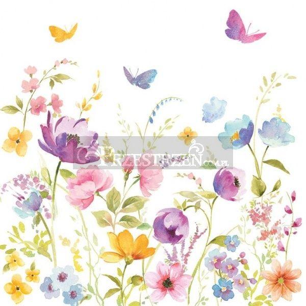 SERWETKI PAPIEROWE - Polne Kwiaty (FLDC)