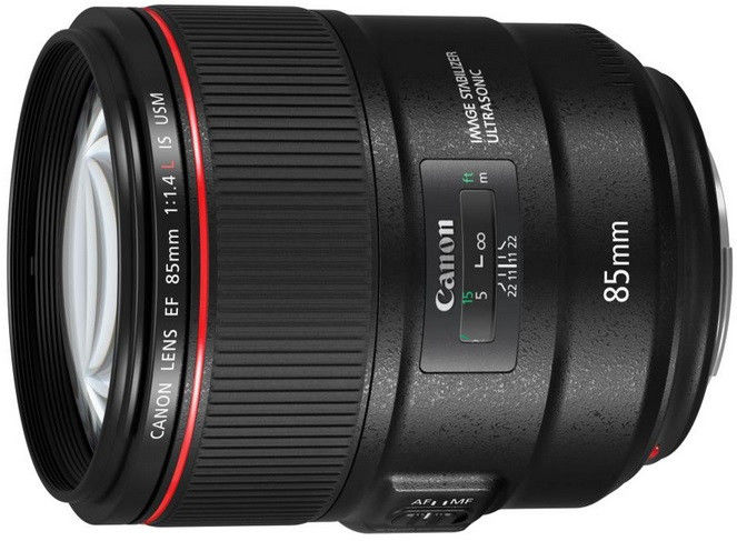Canon EF 85mm f/1.4 L IS USM Czarny