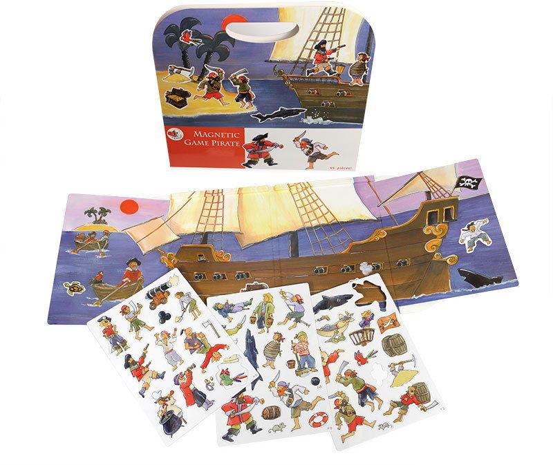 Egmont Toys - Gra magnetyczna - PIRACI