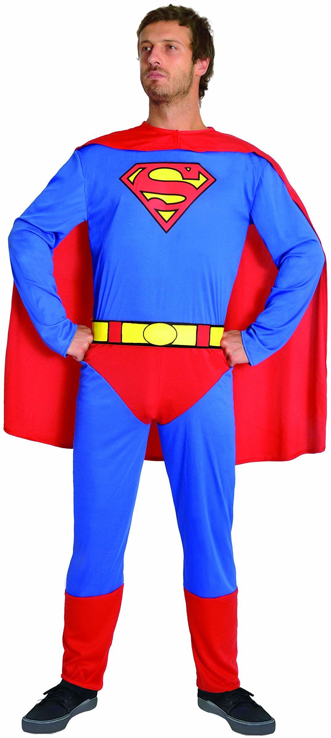 Ciao 11674.XL kostium Superman, Uomo, niebieski/czerwony