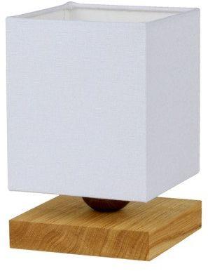SPOTLIGHT lampa stołowa INGER drewno dębowe kolor dąb olejowany, 7284174