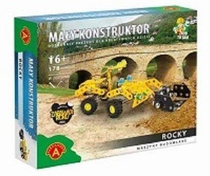 Mały Konstruktor. Maszyny budowlane - Rocky ALEX - Alexander