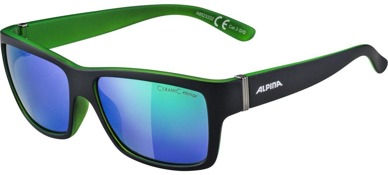 ALPINA okulary sportowe kacey black matt-green A8523332,4003692214225