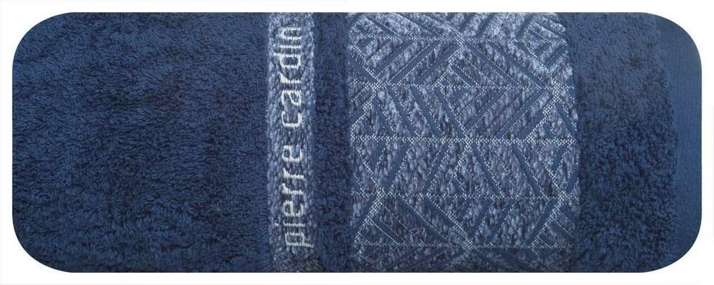Ręcznik Teo 70x140 granatowy 480g/m2 Pierre Cardin