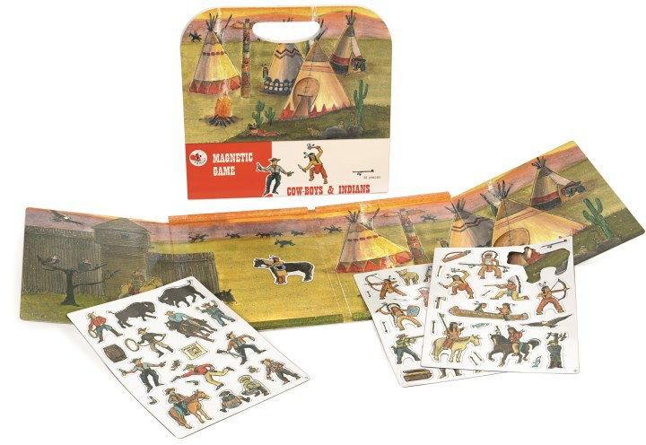 Egmont Toys - Gra magnetyczna - KOWBOJE I INDIANIE