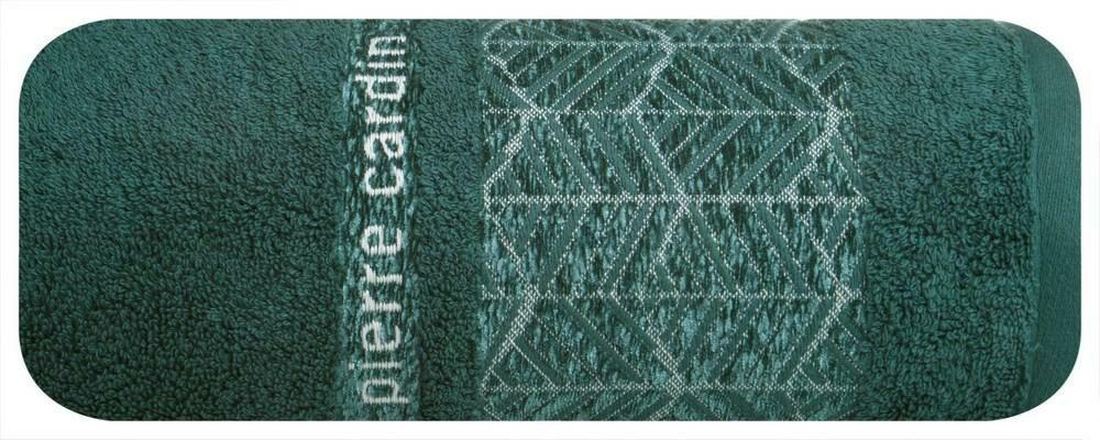 Ręcznik Teo 70x140 ciemny turkusowy 480g/m2 Pierre Cardin