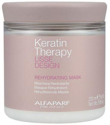 Alfaparf Lisse Design Keratin Therapy maska po keratynowym prostowaniu włosów 200ml