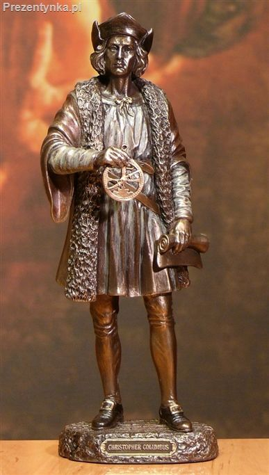 Statuetka Krzysztof Kolumb