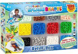 CRAZE SPLASH BEADYS Refill-Box zestaw do uzupełniania Boys, koraliki zamienne, akcesoria do naprasowywania bez prasowania 10006