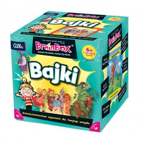 BrainBox Bajki gra Albi