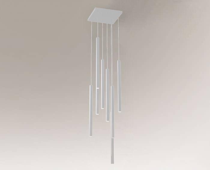 Lampa wisząca YABU 7577 Shilo biały