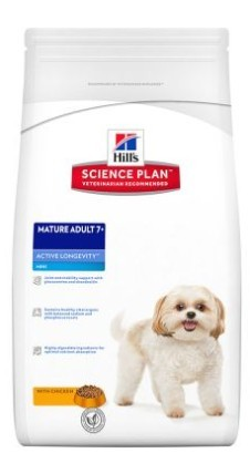 Hills Mature Adult Mini kurczak 1,5 kg