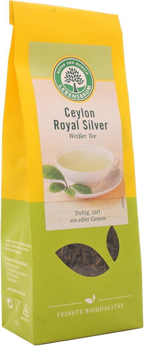Herbata biała Ceylon liściasta BIO - Lebensbaum - 40g