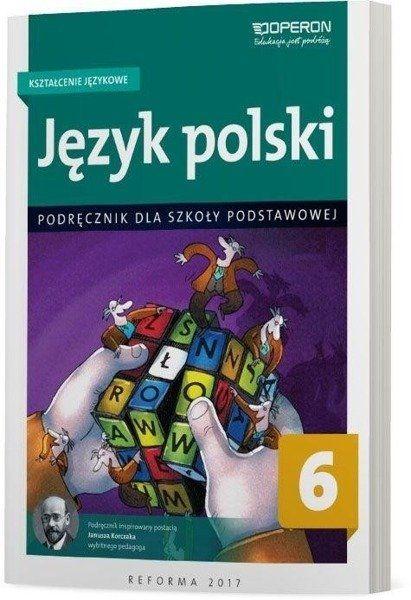 Język polski SP 6 Kształcenie językowe podr OPERON - praca zbiorowa