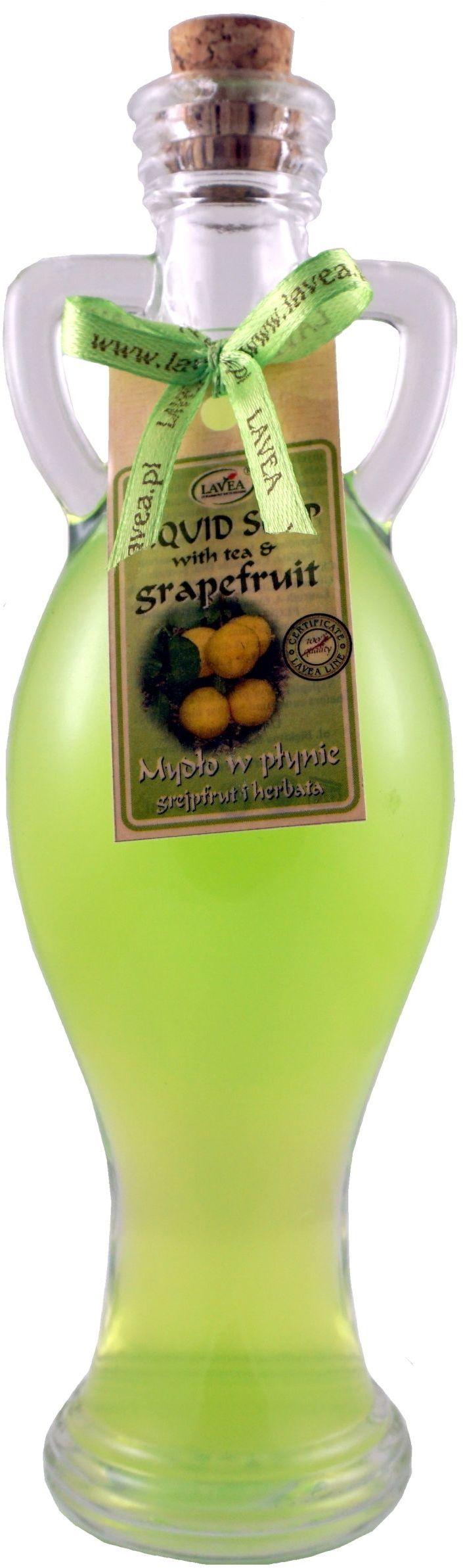 Mydło w płynie Grapefriut i Herbata - 200ml - Lavea