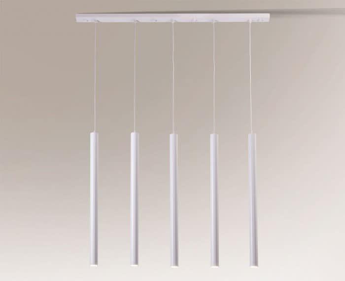 Lampa wisząca YABU 7575 Shilo biały