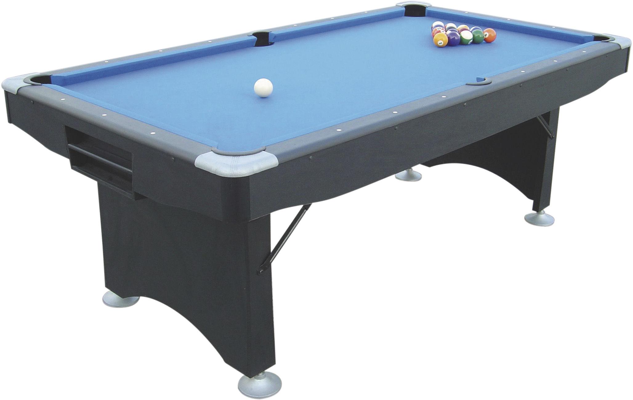 Składany stół bilardowy 7ft BUFFALO CHALLENGER /czarny/