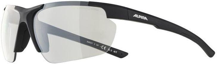 ALPINA okulary sportowe DEFFY HR CLEAR MIRROR S1 black matt A8657334,4003692301345