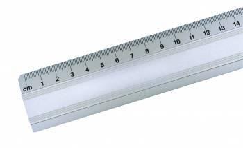 Linijka alum. 50 cm, klasa techniczna LENIAR 30072 - X04102