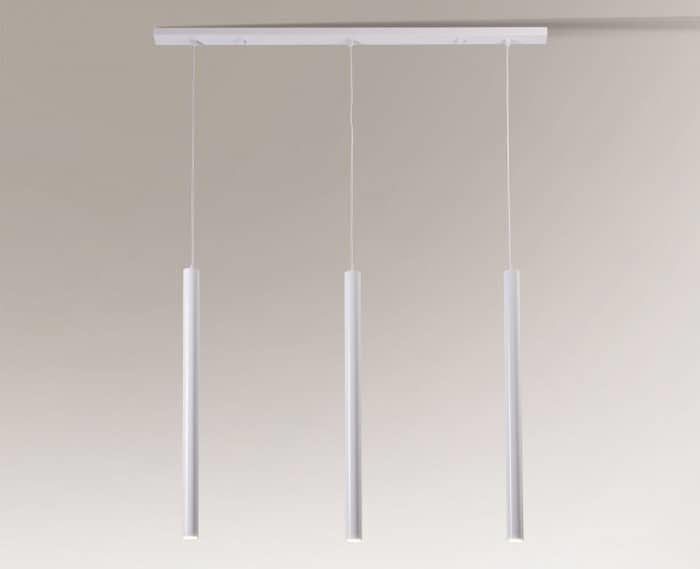 Lampa wisząca YABU 7574 Shilo biały