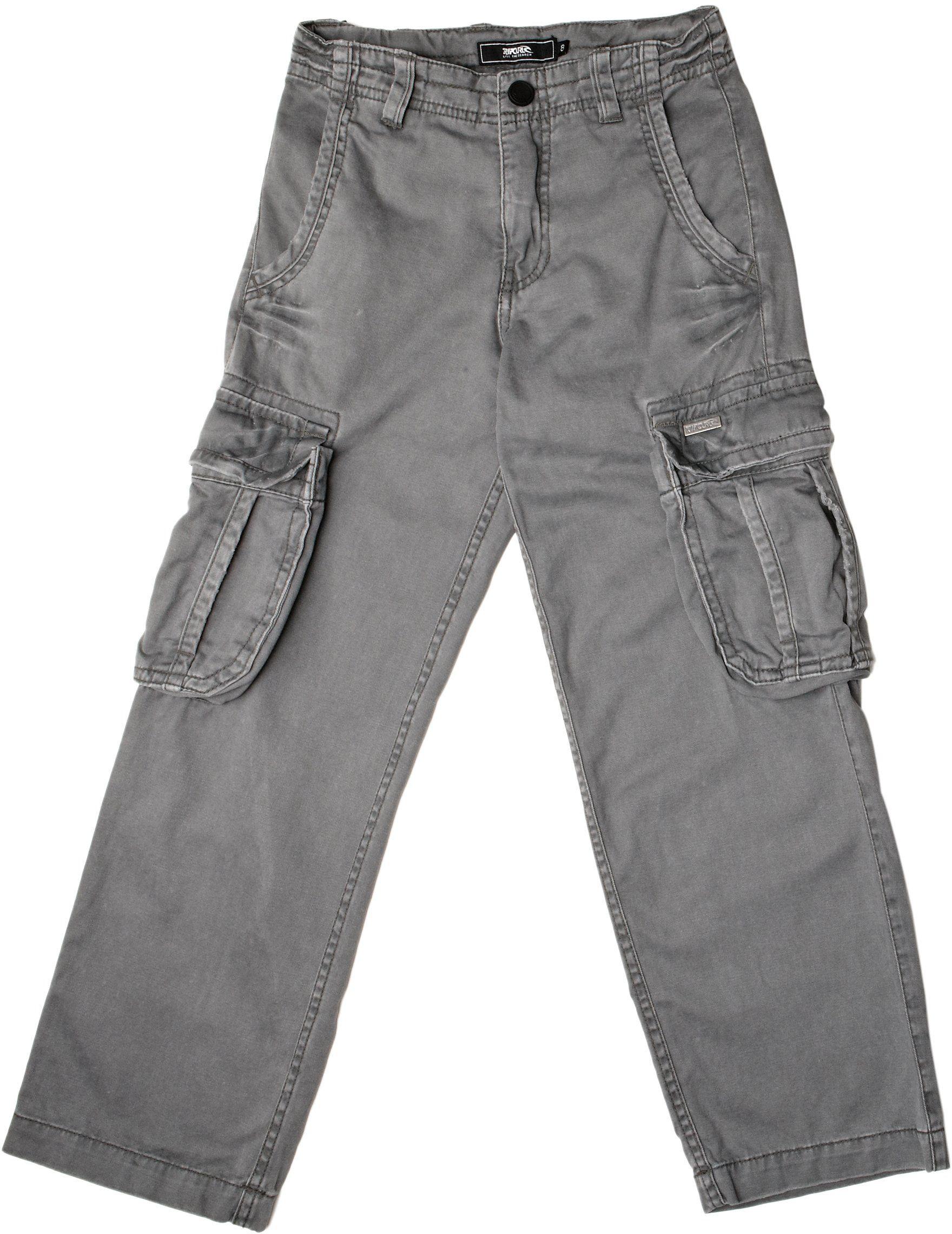 RIP CURL Derick Cargo spodnie chłopięce antracyt 16 lat